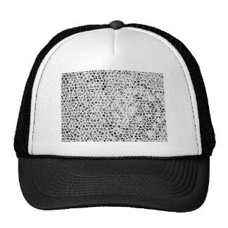 Abstract Giraffe Cap