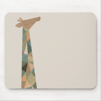 Abstract Giraffe Mouse Pad