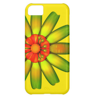 Abstract Glass Flower iPhone 5C Cover