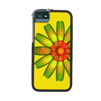 Abstract Glass Flower Case For iPhone 5/5S