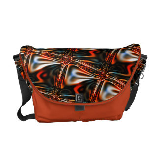 Abstract glass reflection commuter bag