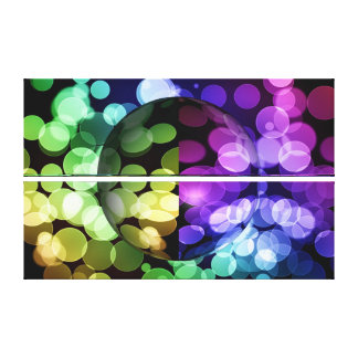 Abstract Globe Gallery Wrap Canvas