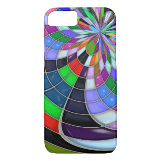 Abstract glossy Flower Case
