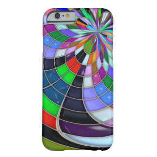 Abstract glossy Flower Case Barely There iPhone 6 Case