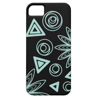 Abstract glowing randomness iPhone 5 case