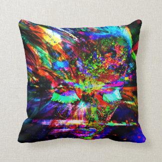 Abstract Goddess Cushion