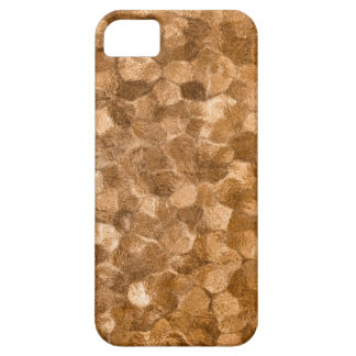 Abstract Gold Copper Background Barely There iPhone 5 Case