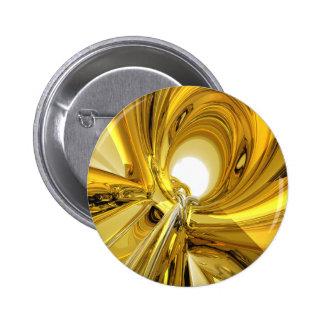 Abstract Gold Rings Pins