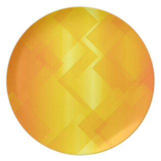 Abstract Golden Background Plate