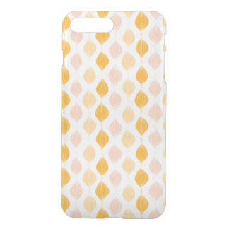 Abstract golden ogee pattern background iPhone 7 plus case