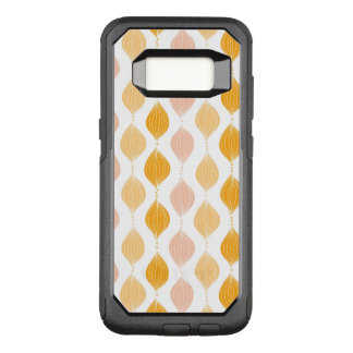 Abstract golden ogee pattern background OtterBox commuter samsung galaxy s8 case