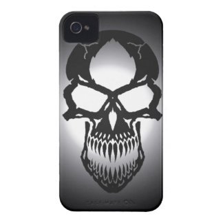 Abstract Gothic Skull Case iPhone 4 Case-Mate Cases