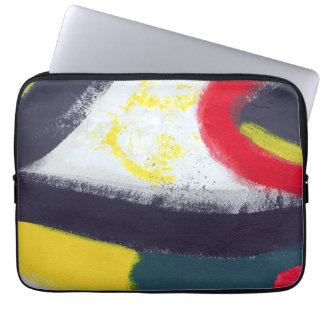 Abstract Graffiti Art from the East Side Gallery Laptop Sleeve