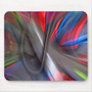 Abstract Graffiti Mouse Pad