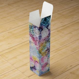 Abstract Grape Vines Vineyard Print Wine Gift Box