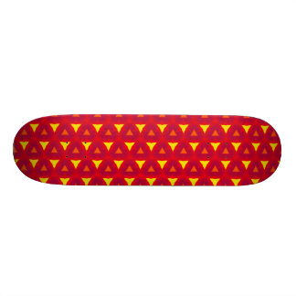 Abstract Graphic Design Custom Skateboard
