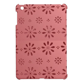 Abstract Graphic Flowers Floral Template add TEXT iPad Mini Case
