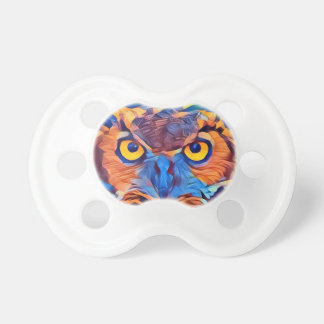 Abstract Great Horned Owl Dummy