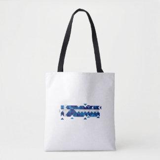 Abstract Greece Flag, Greek Artwork Bag