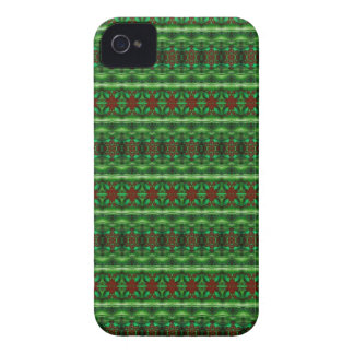 abstract green and red design Blackberry Case