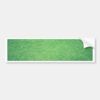 Abstract green bumper sticker
