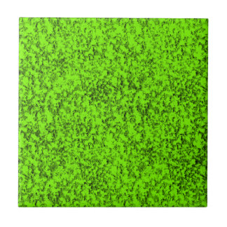 abstract green ceramic tile