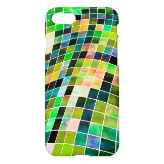Abstract green checkered Case