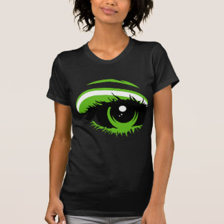 Abstract Green Eye T-Shirt