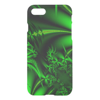 Abstract Green Fractal Jungle iPhone 7 Case