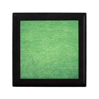 Abstract green gift box
