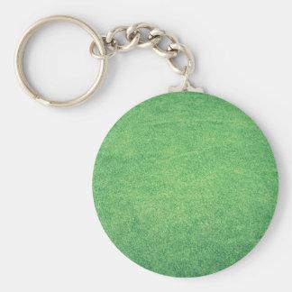 Abstract green key ring