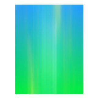 Abstract Green Motion Blur: Postcard