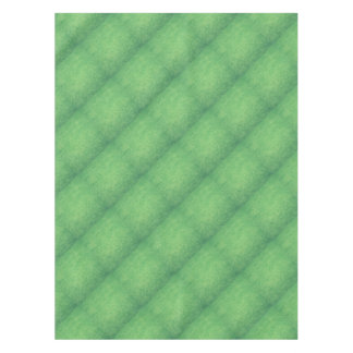 Abstract green tablecloth