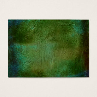 Abstract greens of the forest business card