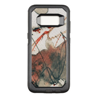 Abstract grunge background, ink texture. 5 OtterBox commuter samsung galaxy s8 case