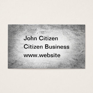 Abstract grunge black and white texture business card
