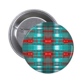 Abstract grunge blur pattern 6 cm round badge