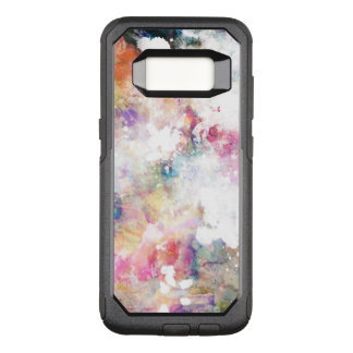Abstract grunge texture with watercolor paint 2 OtterBox commuter samsung galaxy s8 case