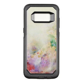 Abstract grunge texture with watercolor paint OtterBox commuter samsung galaxy s8 case