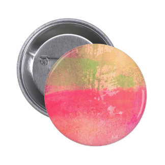 Abstract Grunge Watercolor Print 6 Cm Round Badge