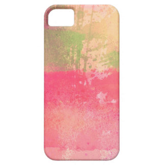 Abstract Grunge Watercolor Print Case For The iPhone 5