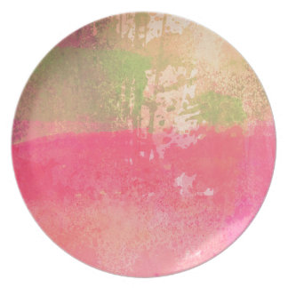 Abstract Grunge Watercolor Print Plate
