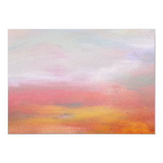Abstract - Guash & Acrylic - Pleasant Dreams Custom Invites