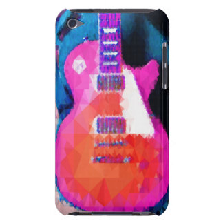 abstract guitar barely there iPod cover