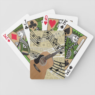 Abstract Guitar Playing Cards Bicycle Playing Cards