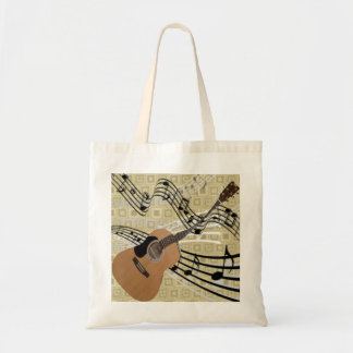 Abstract Guitar Tote