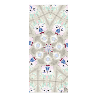 abstract hand design rack cards
