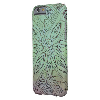 Abstract Hand drawn art case