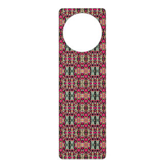 Abstract hand drawn colorful pattern. door hanger