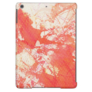 Abstract hand painted watercolor background. 2 2 iPad air case